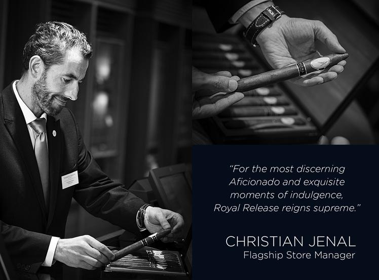 Davidoff Royal Release Christian Jenal